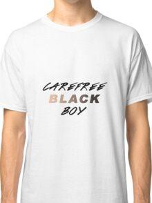 Carefree Black Boy Classic T-Shirt