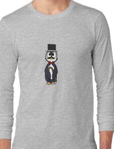 Dapper Penguin Long Sleeve T-Shirt