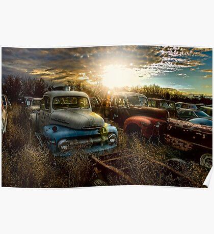 Gone Parking Poster