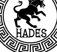 Percy Jackson - Camp Half-Blood - Cabin Thirteen - Hades Sticker