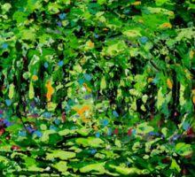 Forest Light by Florida Artist John E Metcalfe Sticker