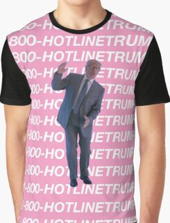 Hotline Trump Graphic T-Shirt