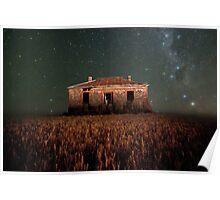 Burra North Ruin and Stars Poster