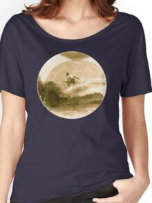 Surfer - Antiqued Women's Relaxed Fit T-Shirt