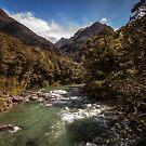 Southern Alps River by doug hunwick