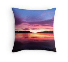 Dunedin Sunrise #2 Throw Pillow