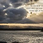Sunset rays - quotation by Kiarn