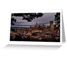 Dressed-Up Downtown San Francisco Greeting Card