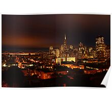 San Francisco Dressed in Lights  Poster