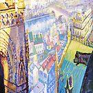 Paris Shadow Notre Dame de Paris by Yuriy Shevchuk