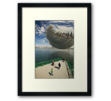 Everything at Once Framed Print