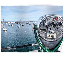 Fishermans Pier Monterey USA Poster