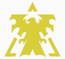 Yellow Terran Insignia Kids Clothes
