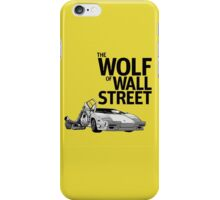 The Wolf Of Wall Street Movie Design Art iPhone Case/Skin
