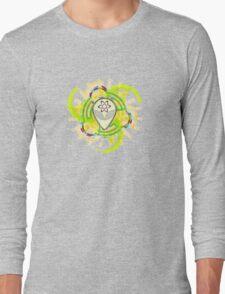 Psychedelic Alien - Light Long Sleeve T-Shirt