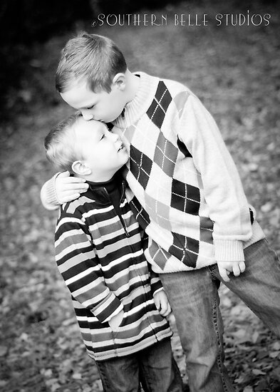 Brotherly by ©Marcelle Raphael / Southern Belle Studios