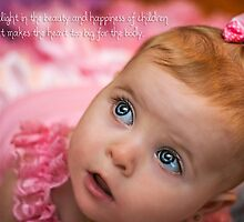 Beauty & Happiness of children - Quotation by Kiarn