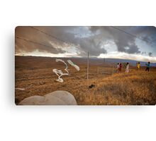 Enjoying Where You Are Canvas Print