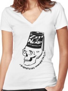 ZON Dispatches Women's Fitted V-Neck T-Shirt