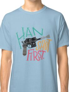 Star Wars - Han Shot First Classic T-Shirt