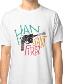 Star Wars - Han Shot First Classic T-Shirt
