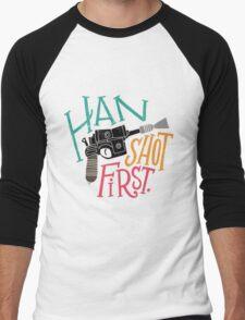Star Wars - Han Shot First Men's Baseball ¾ T-Shirt