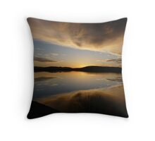still water sunset series at Lewisham  Throw Pillow