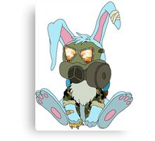 Apocalypse Bunny  Canvas Print
