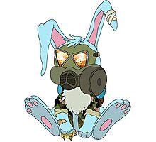 Apocalypse Bunny  Photographic Print
