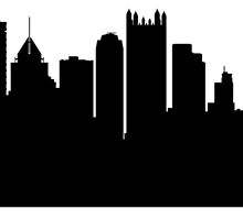Pittsburgh Cityscape Skyline by GiftIdea