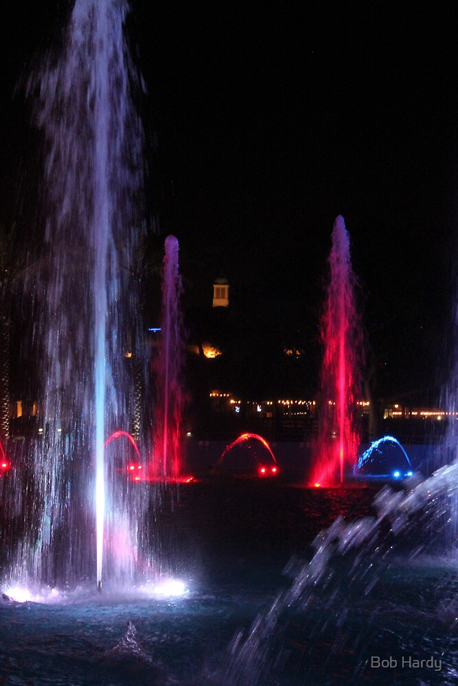 Night Fountains by Bob Hardy