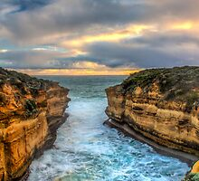 The Great Ocean Road Sunset by Kiarn