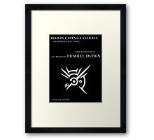 Dishonored Outsider Quote Framed Print