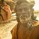 Dogon Man by Edward Perry