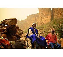Village Elders Photographic Print