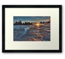 Tofino Sunset Framed Print