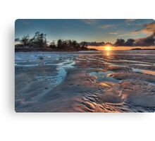 Tofino Sunset Canvas Print