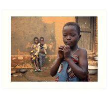 Togolese Children Art Print