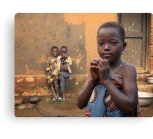 Togolese Children Canvas Print