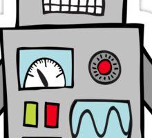 Robot Friend 1000 Sticker