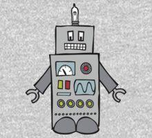Robot Friend 1000 One Piece - Short Sleeve