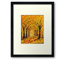 The Arches in Yellow by John E Metcalfe Framed Print
