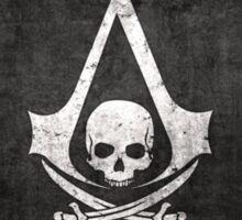 Assassin's creed Black flag Sticker