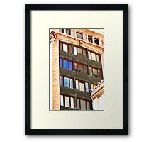 Architecture - Urban Lines and Reflections - San Francisco Framed Print