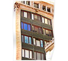 Architecture - Urban Lines and Reflections - San Francisco Poster
