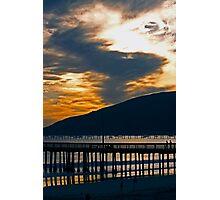 Avila Beach Pier at Sunset Photographic Print