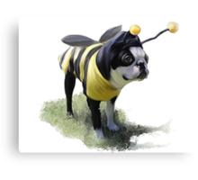 DJ the Bumble Bee Boston Canvas Print