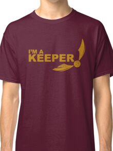 I'm a Keeper - Yellow ink Classic T-Shirt
