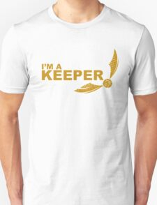 I'm a Keeper - Yellow ink T-Shirt