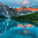 Moraine Lake Sunrise by James Wheeler